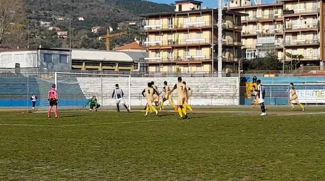 Savona-Arconatese 1-0 il gol di Virdis