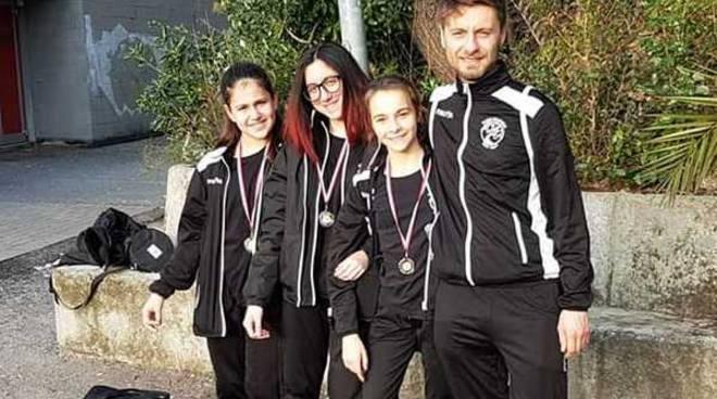 Taekwondo tre medaglie alla New Fight Busto Arsizio al Trofeo Lanterna
