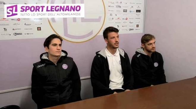 A.C. Legnano Andrea Ronchi Matteo Amelotti Domenico Grasso