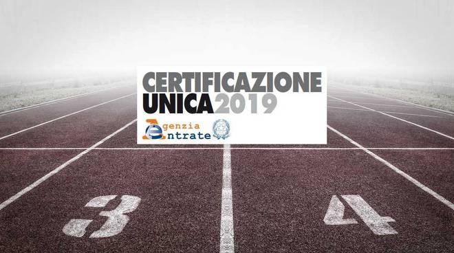 Associazioni Sportive Dilettantistiche la Certificazione Unica 2019