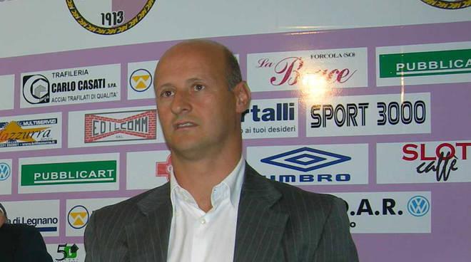 Attilio Lombardo allenatore A.C. Legnano 2008/09