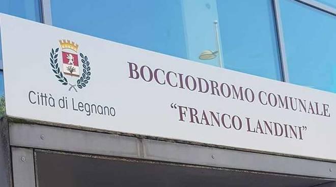 """Bocciodromo """"Franco Landini"""" Legnano"""