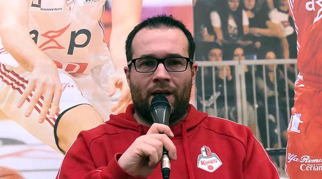 Coach Alberto Mazzetti Knights Basket Legnano