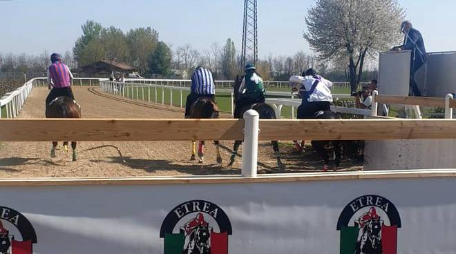 Corse di addestramento Palio di Legnano 31 marzo 2019