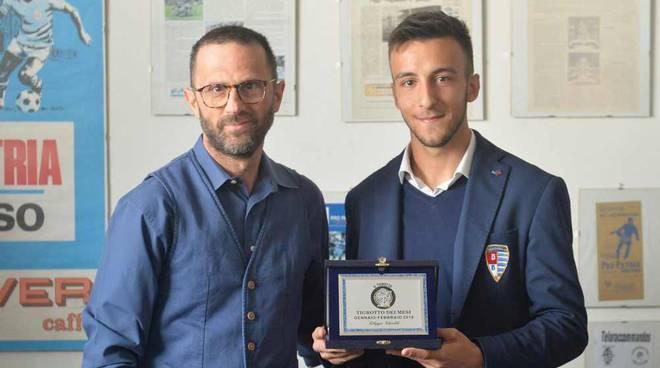 Filippo Ghioldi Aurora Pro Patria Tigrotto del mese febbraio 2019