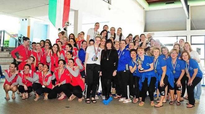 GS Rancilio ai Campionati Italiani Invernali 2019 di Nuoto Sincronizzato