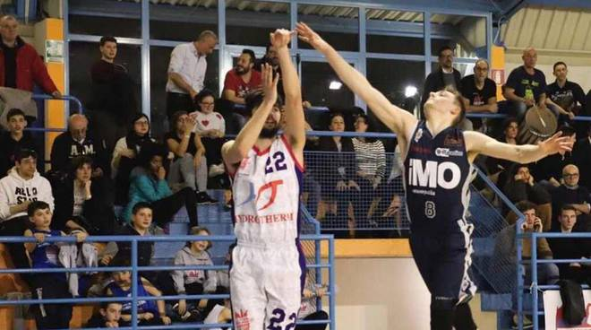 Hydrotherm Busto Arsizio - iMO Robur Basket Saronno 83-72