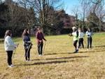 I maturandi del Liceo Cavalieri di Parabiago alla scoperta del Nordic Walking
