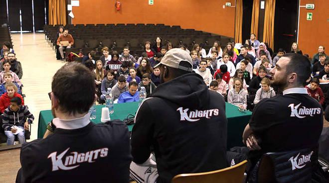 Knights Legnano alle Scuole Tosi di Legnano