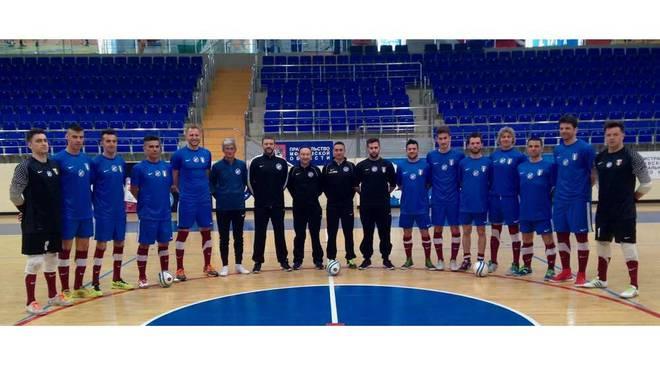 La Nazionale Italiana di Calcio a 5 AMF