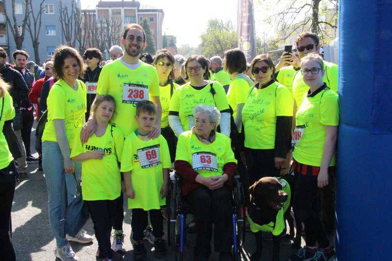 Run for Parkinson's 2019 La camminata con i malati di Parkinson