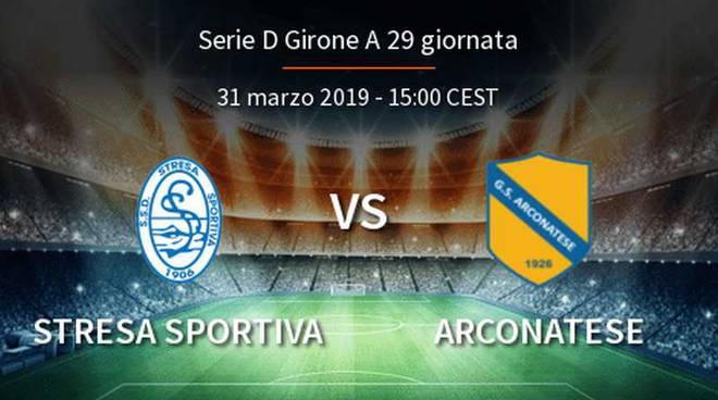 Stresa Sportiva-Arconatese 2-1