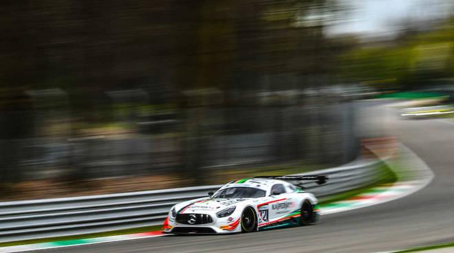 Alessio Rovera all'esordio nel GT Open su Mercedes a Le Castellet