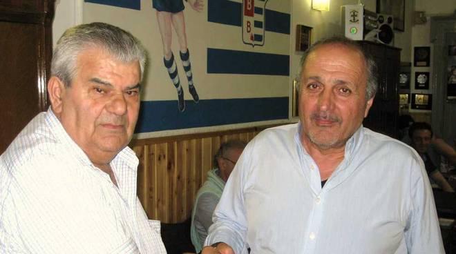 Andrea Gambertoglio e Roberto Centenaro Pro Patria Club