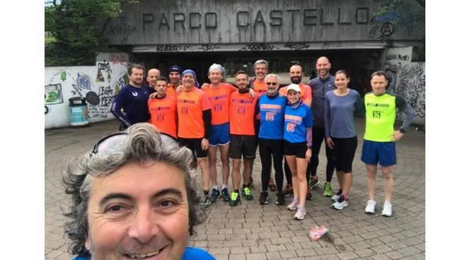 Atletica PAR Canegrate al Parco Castello di Legnano