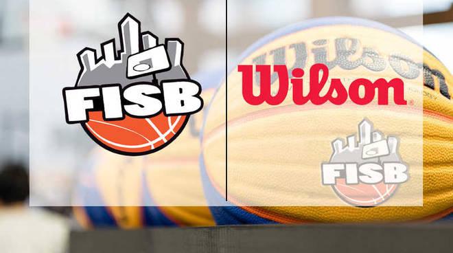 Basket 3 contro 3 Wilson pallone ufficiale FISB