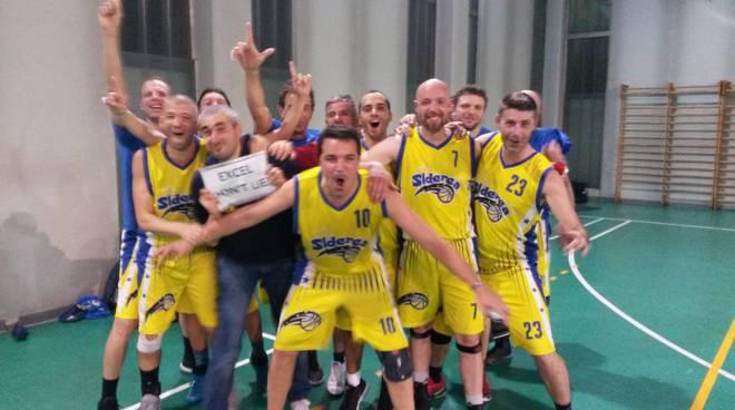 Siderea Basket Legnano…..obiettivo raggiunto, promozione in seria A UISP Varese