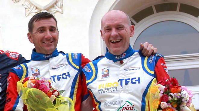 Esaltante podio per Da Zanche al Rally di Sanremo su Porsche 911