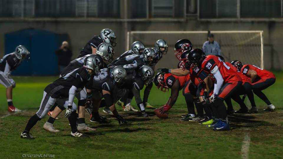 Frogs Legnano-Wolverines Piacenza 10-48