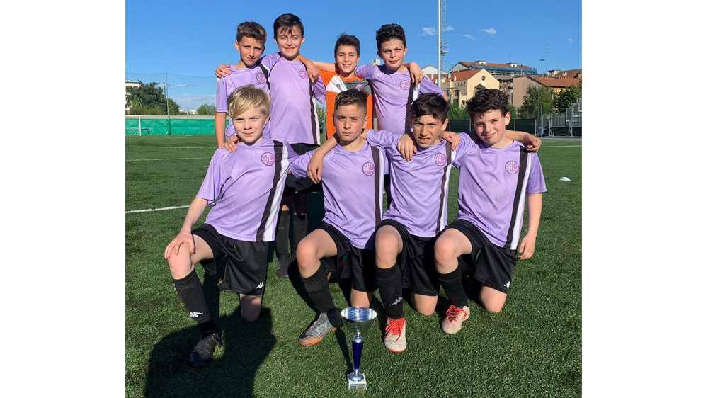 I pulcini 2008dell'Academy Legnano Calcio salgono sul terzo gradino del podioal Torneo Sempione Half