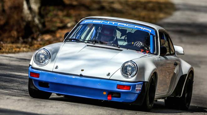 Lucio Da Zanche sogna il poker al Rally di Sanremo su Porsche 911 gruppo B