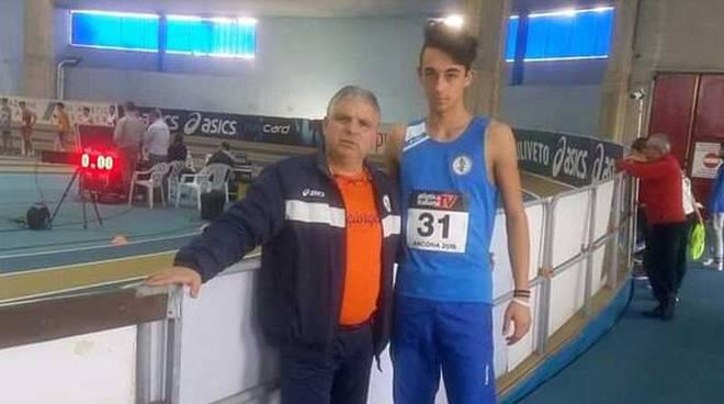 Riccardo Legnano 110 ostacoli Atletica Sangiorgese
