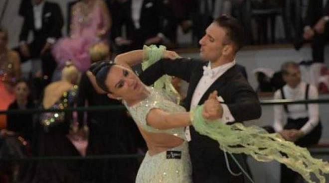 Sara Pedranti e Matteo Tomasoni Danza Sportiva