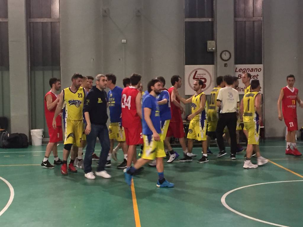 Siderea Basket Legnano-Vikinger Cislago 80-75