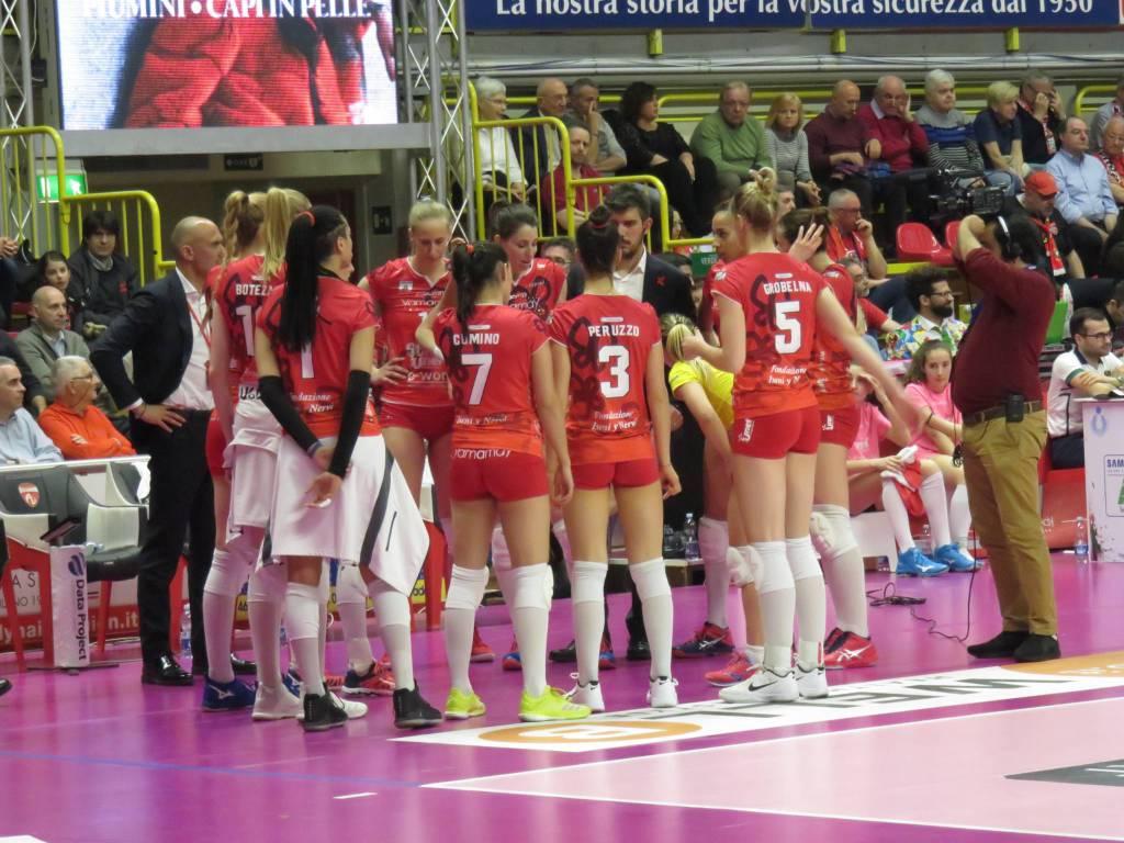 Uyba-Saugella Team Monza 3-2 (playoff)