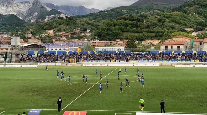 Carrarese - Pro Patria 2-0 Playoff Serie C Primo turno