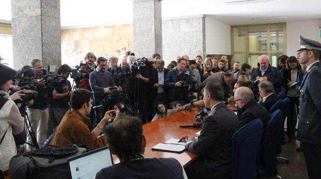 Conferenza stampa Procura della Repubblica Busto Arsizio 16-05-19