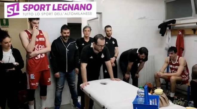 Dentro lo spogliatoio dei Knights Legnano
