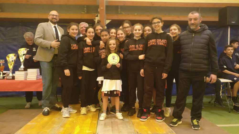 Under 13 Bulldog Basket Canegrate