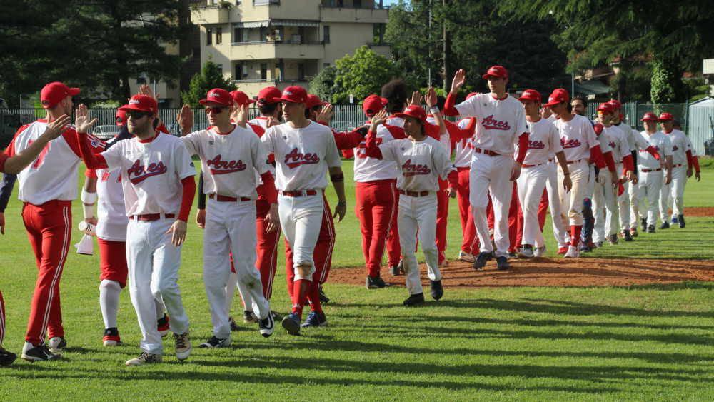 Legnano Baseball - Ares Milano 5-7