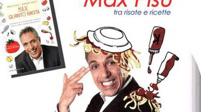 Max Pisu tra risate e ricette al Welcome Hotel