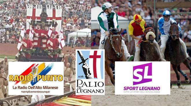 Radio Punto e Sport Legnano insieme per il Palio di Legnano 2019