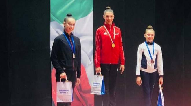 Anna Carla Stucchi Medaglia argento Torneo Nazionale Gold