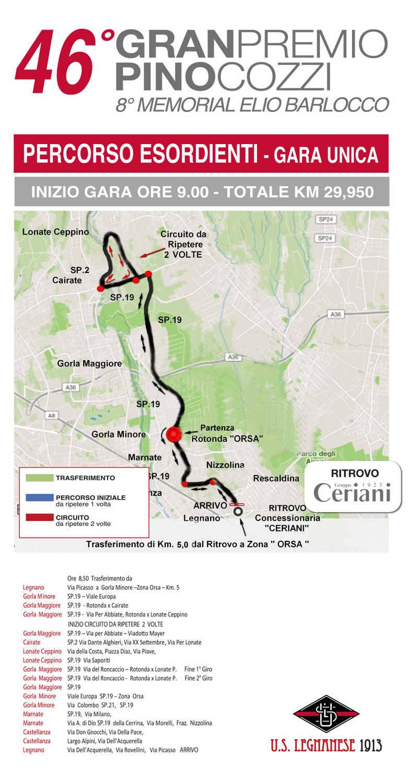 G.P. Pino Cozzi Targa Oro Città di Legnano