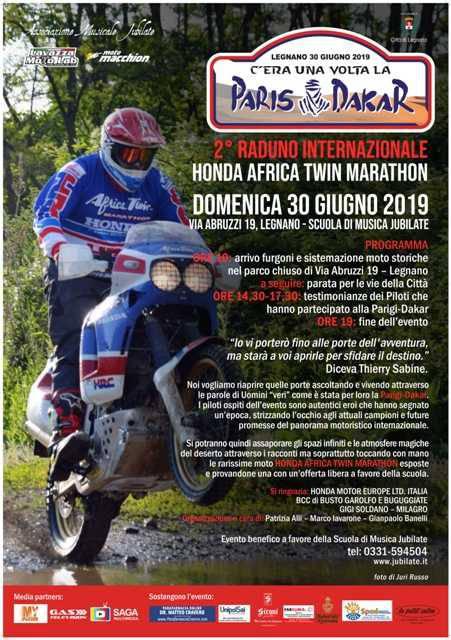 La Dakar arriva a Legnano