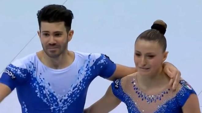 Michela Castoldi e Davide Donati agli European Games