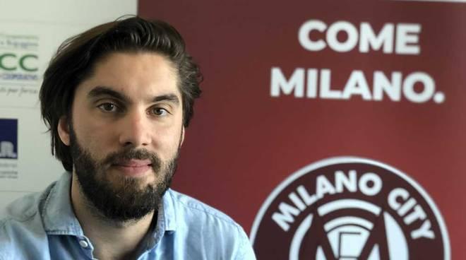 Niccolò Arenella responsabile comunicazione Milano City FC
