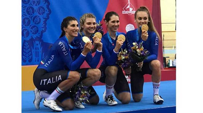 Oro per Martina Alzini agli European Games