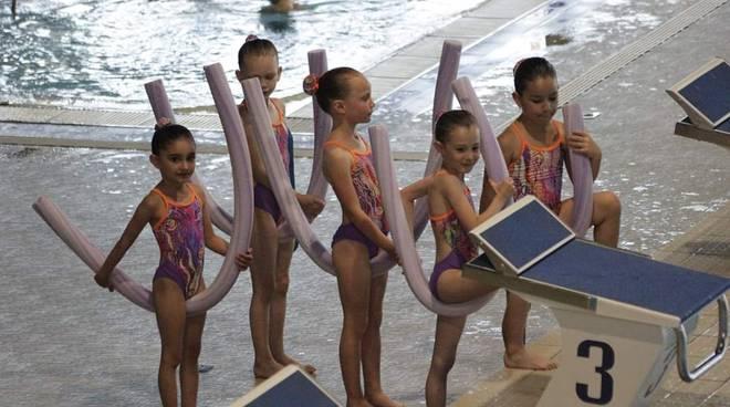 Saggio di fine anno Rari Nantes Legnano Nuoto Sincronizzato