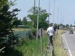 Tifosi fuori dallo stadio per Legnano-Breno