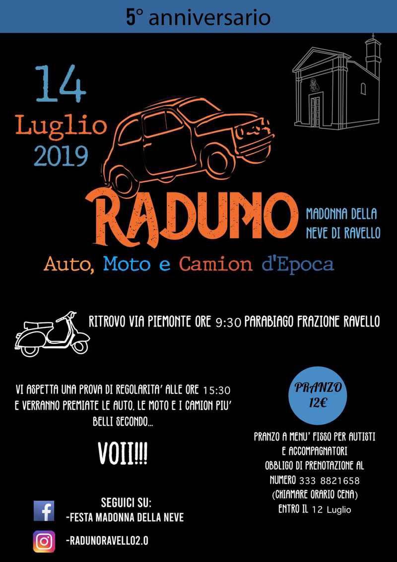 5° Raduno Auto, Moto e Camion d'Epoca a Parabiago