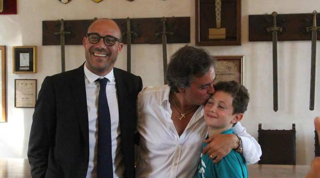 Alberto Oldrini Gran Maestro Collegio dei Capitani e delle Contrade