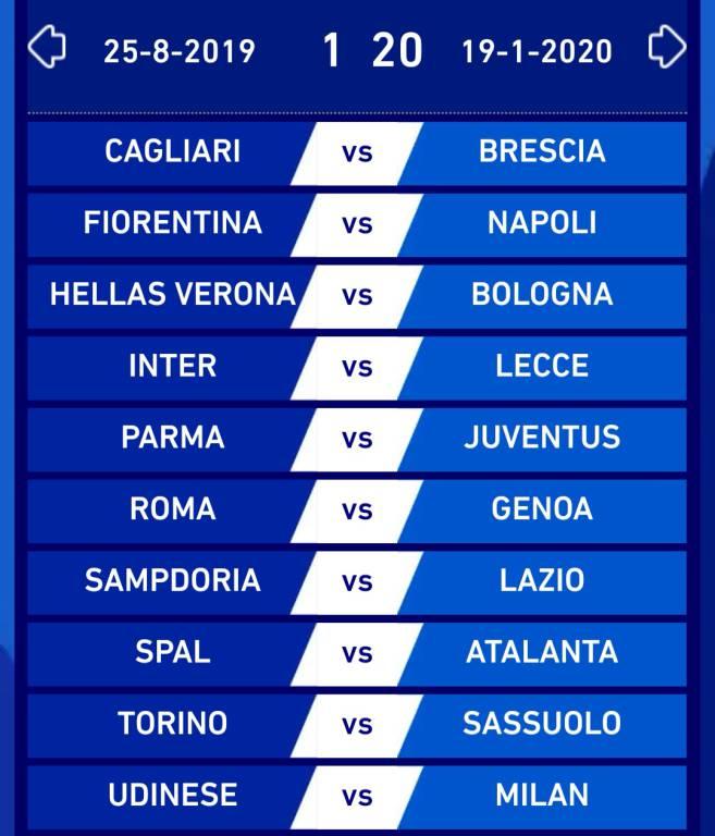 Calendario Calcio Bologna.Svelato Il Calendario Della Serie A Sportlegnano It