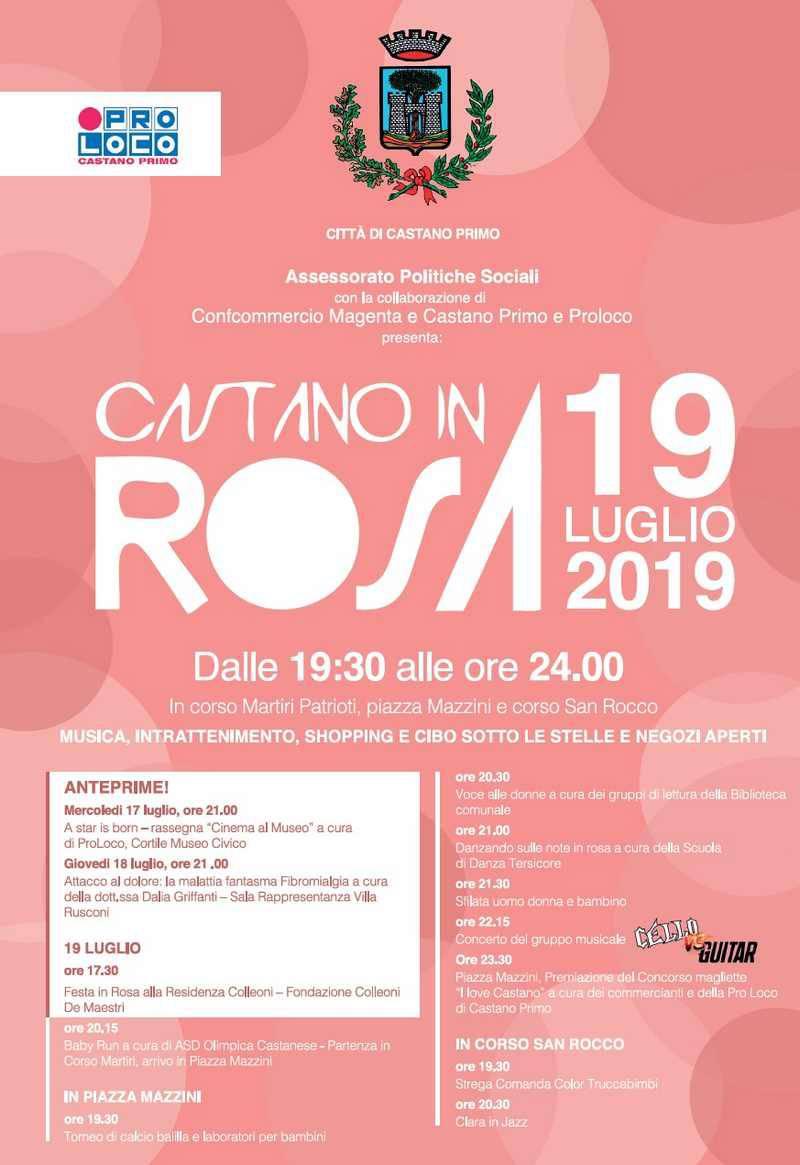 Castano in rosa 2019