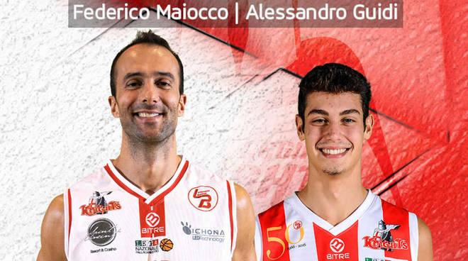 Federico Maiocco e Alessandro Guidi tornano nei Knights Legnano