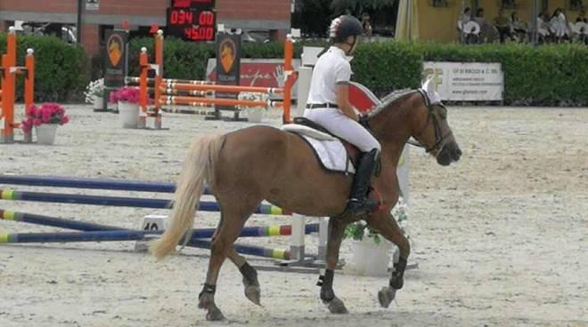Giorgia Labricciosa e Manuele Olgiati quinta tappa del circuto Pony S.O. Lombadia 2019